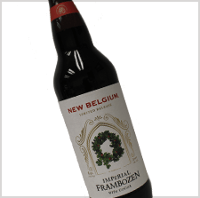New Belgium Frambozen Cut and Stack Label