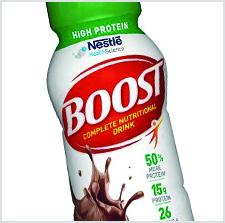Nestle Boost Chocolate Sensation Shrink Sleeve Label - AWA Sleeve Label Awards - Inland Packaging