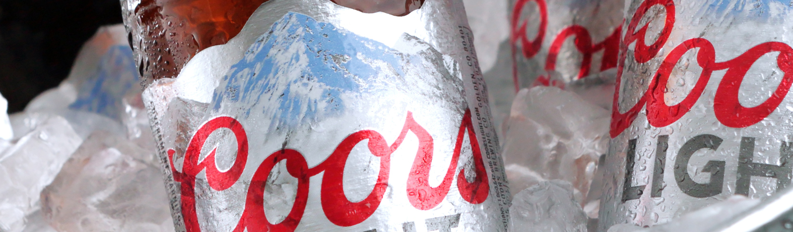 Beer: Coors Light Cut and stack beer labels by Inland