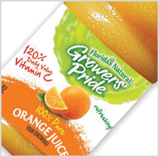 Florida's Natural Growers' Pride 100% Pure Orange Juice