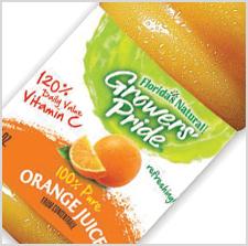 Florida's Natural Growers' Pride 100% Pure Orange Juice