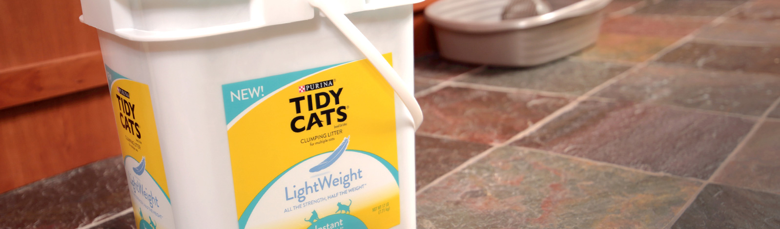 Pet product packaging for Tidy Cats by Inland