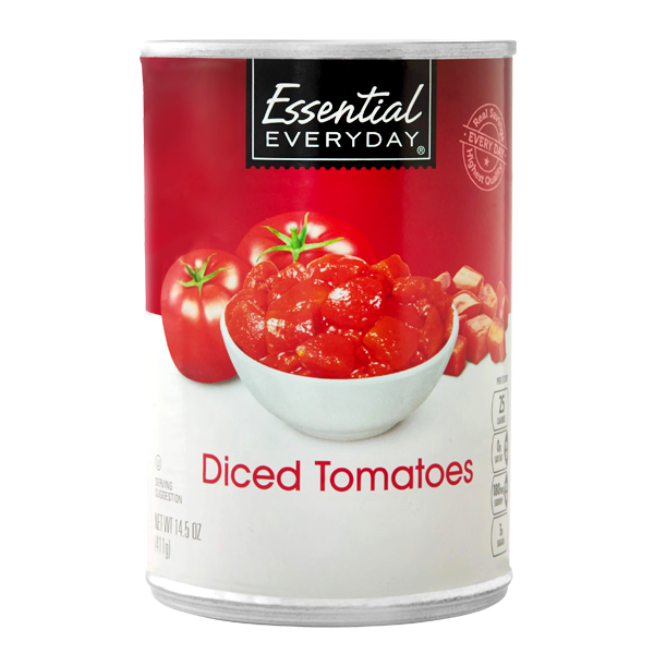 Canned Tomatoes Food Label