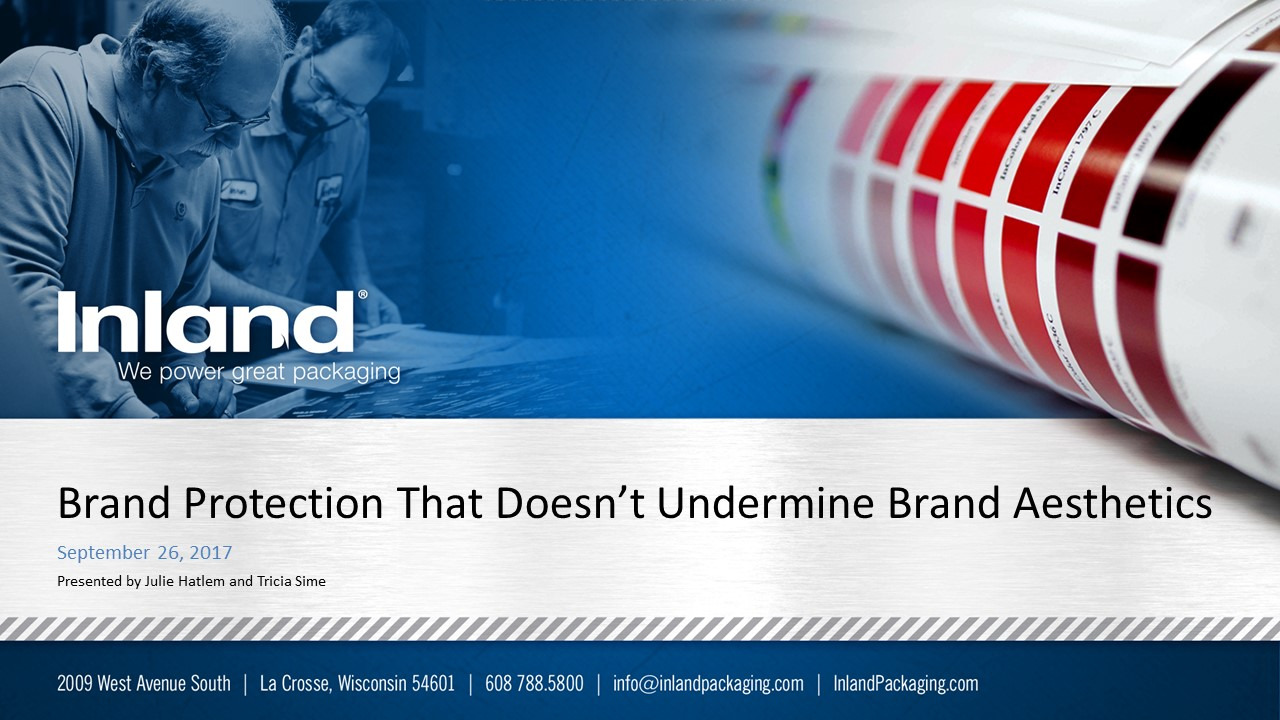 Brand Protection Presentation