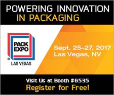 Register for Pack Expo 2017