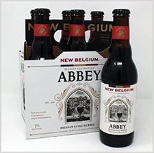 New Belgium - Abbey Label GDUSA Award