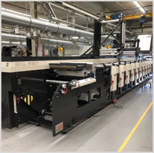 Inland Packaging Installs New MPS Flexo Press