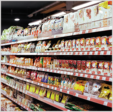 Grocery Store Food and Beverage Labels