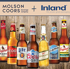 Inland Receives Molson Coors' Packaging Materials Supplier of the Year Award