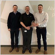 Inland Receives Berry Global's  Supplier of the Year Award